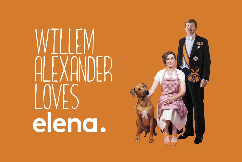 Willem Alexander Loves Elena